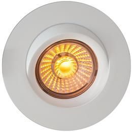 Downlights corona ip44 dim to warm 8w matt hvit