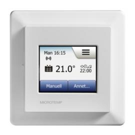 Termostat Microtemp WiFi MWD5 med touch