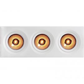 Unilampe Gyro Frame WarmDim 3x9w LED