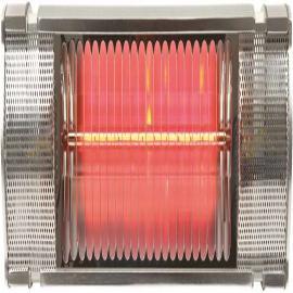Halogeninfravarmere, 2000W, IP65 for 12m²
