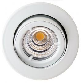 LED Downlight GU10 5W COB Dimbar 2700K Matt hvit