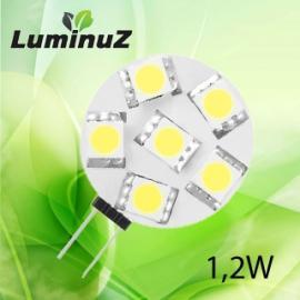 G4 1,2W Dimbar LED passer til 10-30V DC