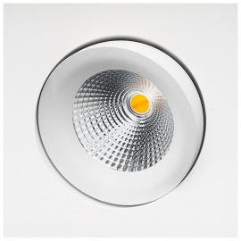 SG GYRO SQUARE DIMTOWARM ISOSAFE MATT-HVIT 6W LED 2000-2800K