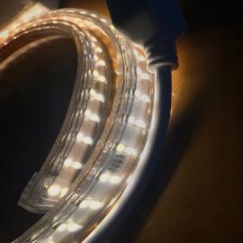 230V dobbel chip LED stripe SUPER sterk 19W pr meter