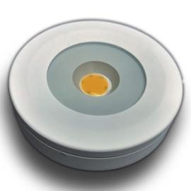 3W LED Møbel spot 15mm byggehøyde  230V Dimbar