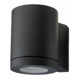 Sg metro down vegglampe 4.5w led 2700k sort